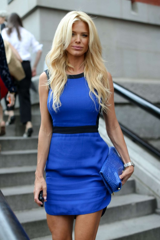 Victoria Silvstedt - Tommy Hilfiger Spring 2015 Women's Collection in New York