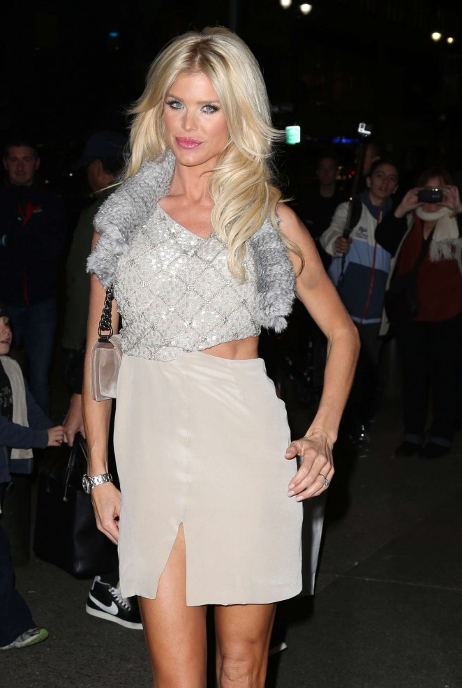 Victoria Silvstedt - Topman Flagship Opening Dinner in NYC