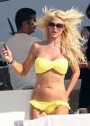 Victoria Silvstedt - wearing a Bikini in Saint Tropez -01
