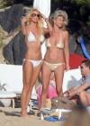 Victoria Silvstedt Wearing a bikini in St Barts-01