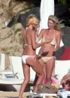 Victoria Silvstedt Wearing a bikini in St Barts-07