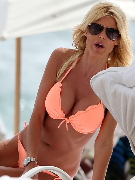 Victoria Silvstedt Bikini Pics: 2013 Miami Beach -06