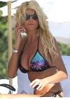 Victoria Silvstedt Bikini Photos: Miami -04