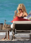 Victoria Silvstedt bikini photos: 2014 in St Barts -11