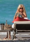 Victoria Silvstedt bikini photos: 2014 in St Barts -16