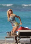 Victoria Silvstedt bikini photos: 2014 in St Barts -19