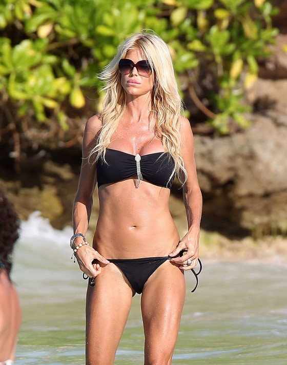 Victoria Silvstedt bikini photos: 2014 in St Barts -50