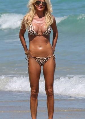 Victoria Silvstedt Bikini Photos: 2014 Miami -09
