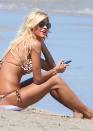 Victoria Silvstedt Bikini Photos: 2014 Miami -10