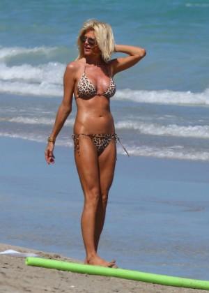 Victoria Silvstedt Bikini Photos: 2014 Miami -12