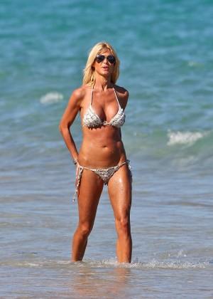 Victoria Silvstedt Bikini Photos: Miami 2014 -13