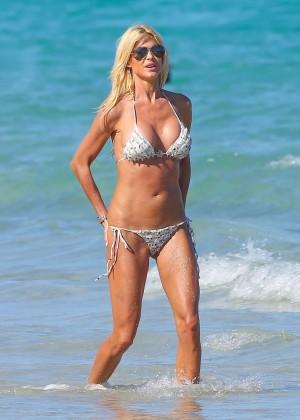 Victoria Silvstedt Bikini Photos: Miami 2014 -31