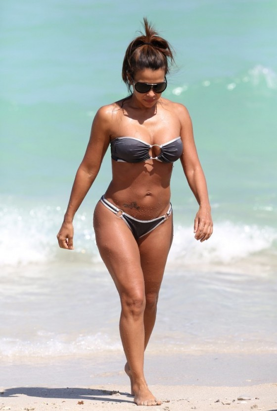 Vida Guerra - Bikini in Miami -08