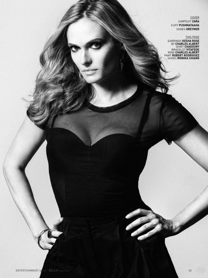 Vinessa Shaw - BELLO Magazine (September 2014)