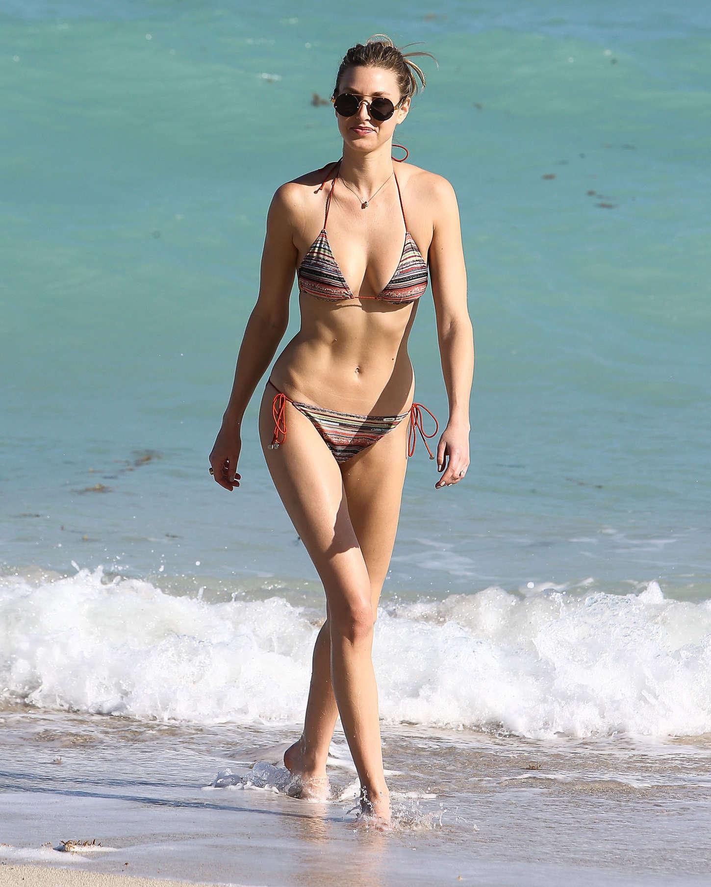 Whitney Port Hot Bikini Photos In Miami