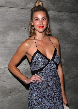 Whitney Port - Charlotte Ronson Fashion Show in NY