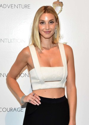 Whitney Port - Cynthia Rowley Fashion Show in New York City