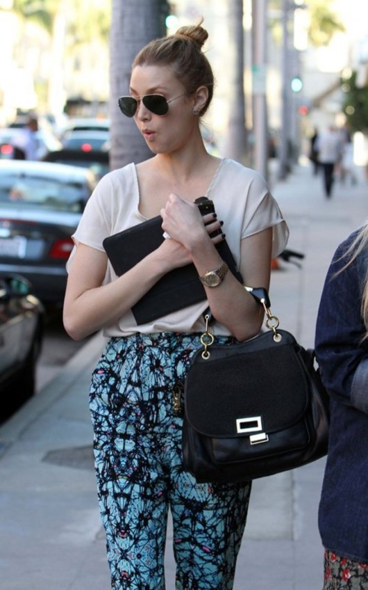 Whitney Port in Beverly Hills