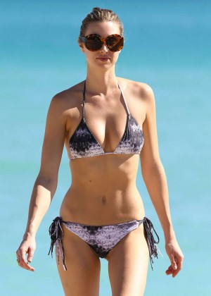 Whitney Port in Bikini on Miami Beach