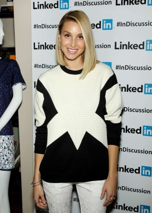 Whitney Port - Linkedin Discussion Series in NY