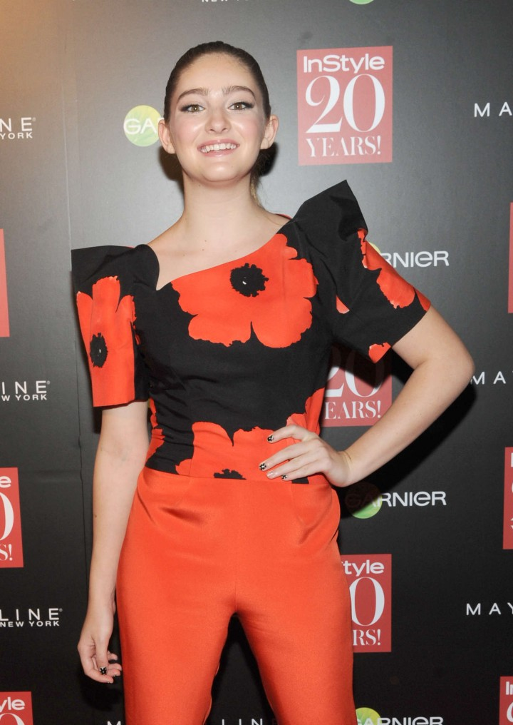 Willow Shields - Instyle Hosts 20th Anniversary Party in NYC