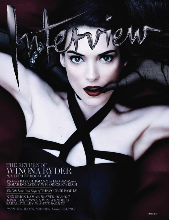 Winona Ryder 2013 : Winona Ryder – Interview magazine 2013 -02