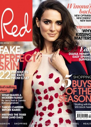 Winona Ryder: Red Magazine -02