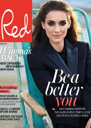 Winona Ryder: Red Magazine -04