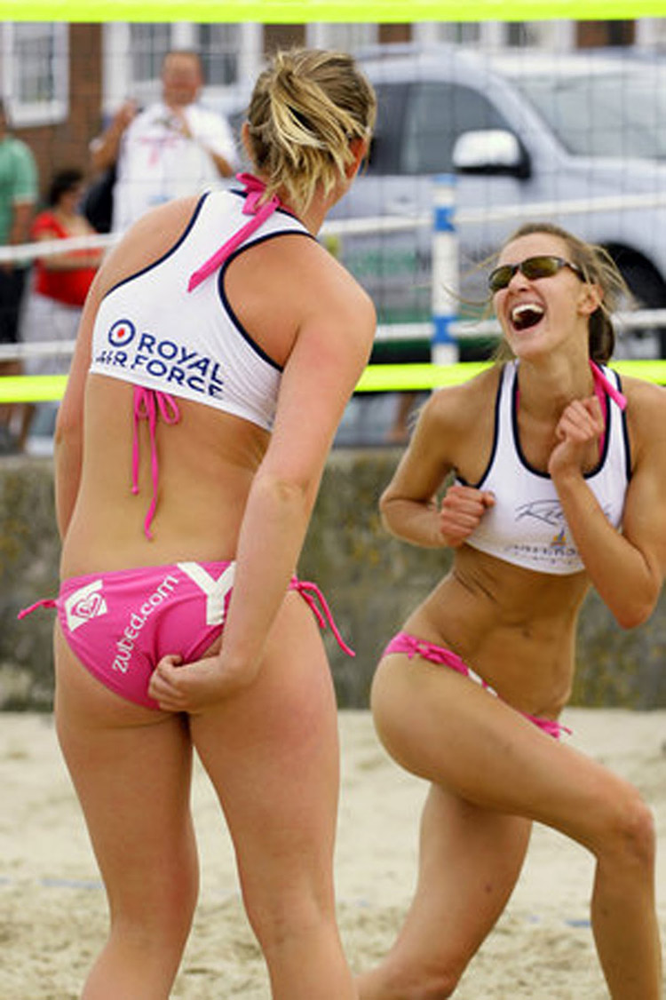 Girls volleyball team nude