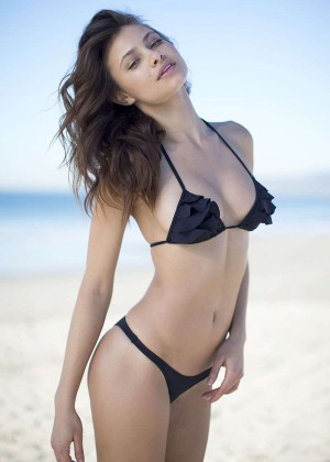 Yara Khmidan in Bikini for San Lorenzo Lookbook 2014