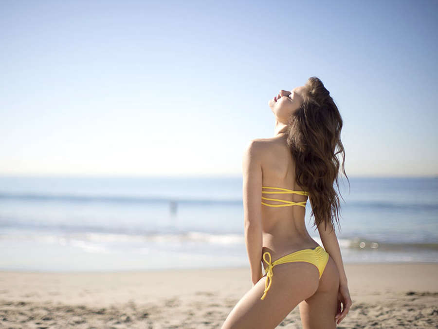 Yara Khmidan 2014 : Yara Khmidan in Bikini for San Lorenzo 2014 LookBook -09