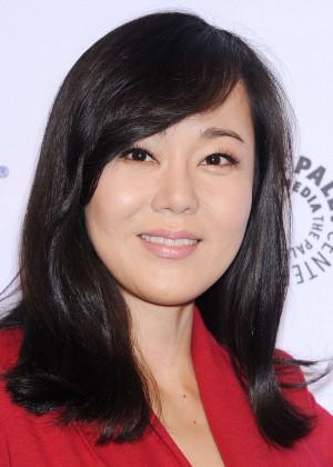 Yunjin Kim: 2014 PaleyFest - Lost 10th Anniversary Event -02