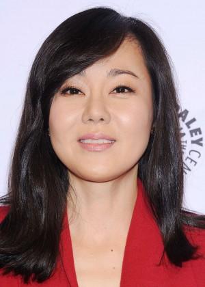 Yunjin Kim: 2014 PaleyFest - Lost 10th Anniversary Event -06