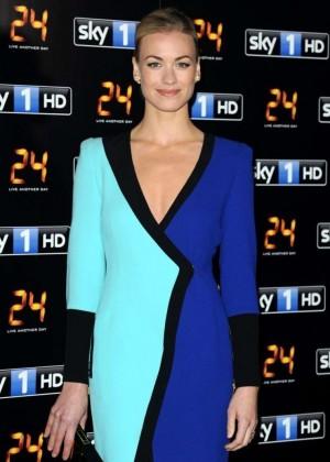 Yvonne Strahovski - 24: Live Another Day UK Premiere -03