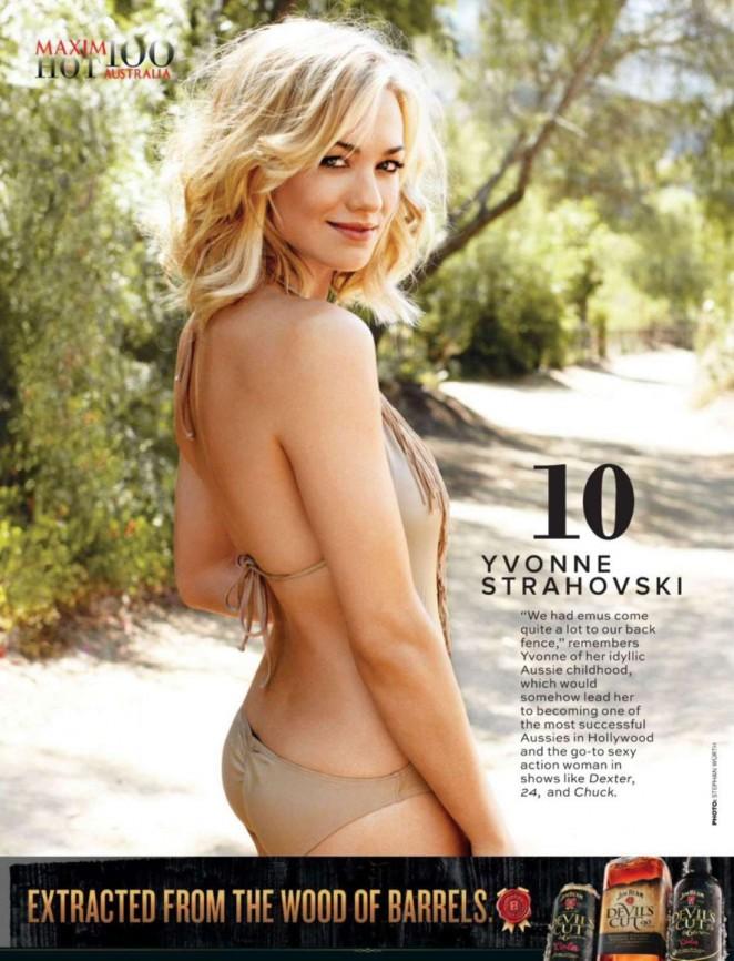 Yvonne Strahovski - Maxim Australia Magazine (November 2014)