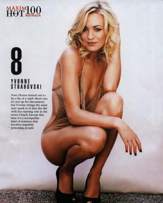 Yvonne Strahovski: Maxim Hot 100 -01