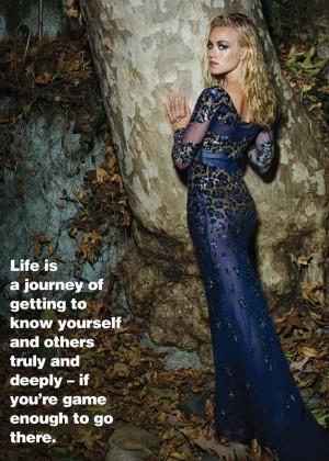 Yvonne Strahovski: Spirit and Flesh Magazine 2014 -09