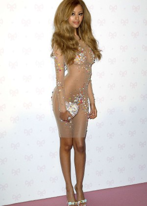 Zahia Dehar at her store opening in Paris -07