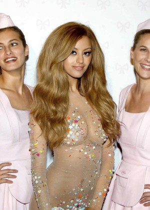Zahia Dehar at her store opening in Paris -11