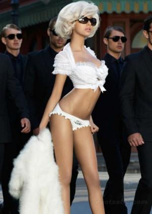 Zahia Dehar in Vanity Fair -09