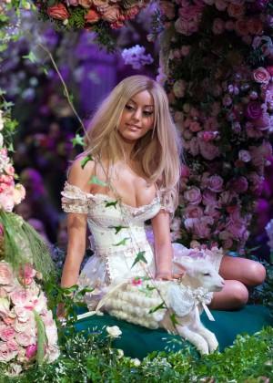 Zahia Dehar - Looking Amaizing at Zahia SS 2013 Haute Couture show in Paris-02