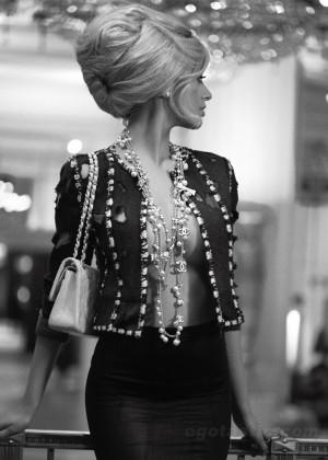 Zahia Dehar - V Magazine Spain -07