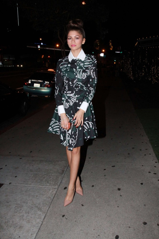 Zendaya at The Soho House in West Hollywood