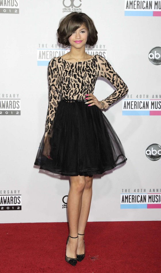 Zendaya Coleman at American Music Awards-10