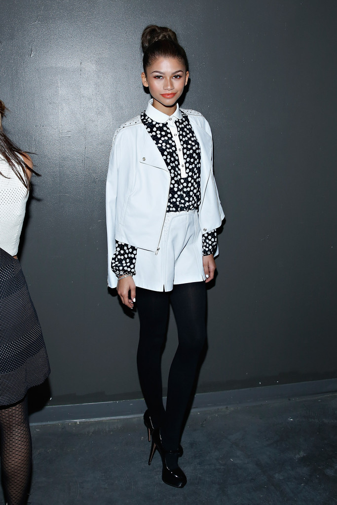 Zendaya Coleman 2014 Fashion Show In Nyc Charlotte