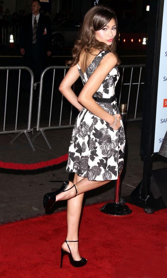 Zendaya Coleman at Safe Haven Premiere in Hollywood-12