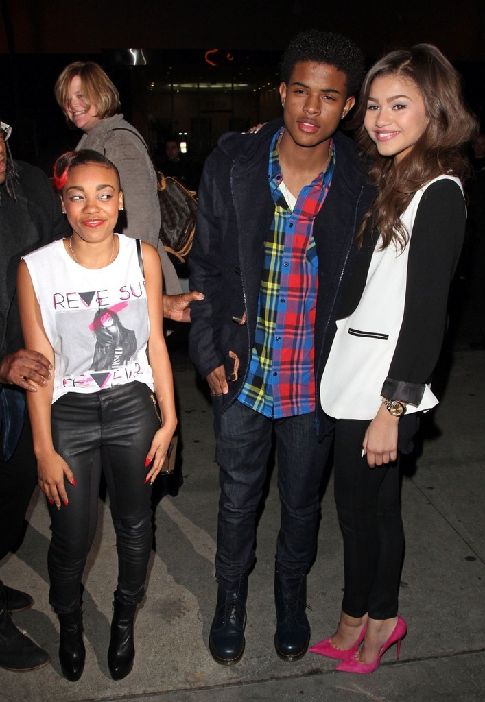 Zendaya Coleman at the BOA Steakhouse in Hollywood-04 - Full Size