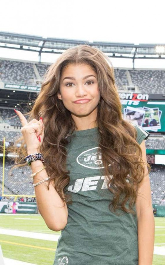Zendaya Coleman Steelers Vs Jets Game 01 Gotceleb