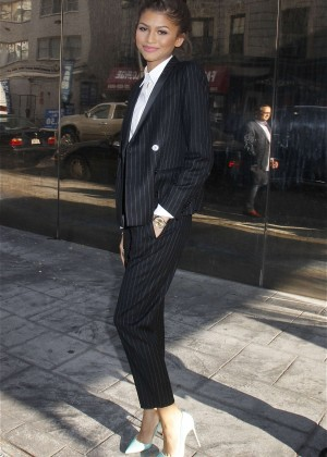 Zendaya - Leaving 'Good Day New York' in NYC