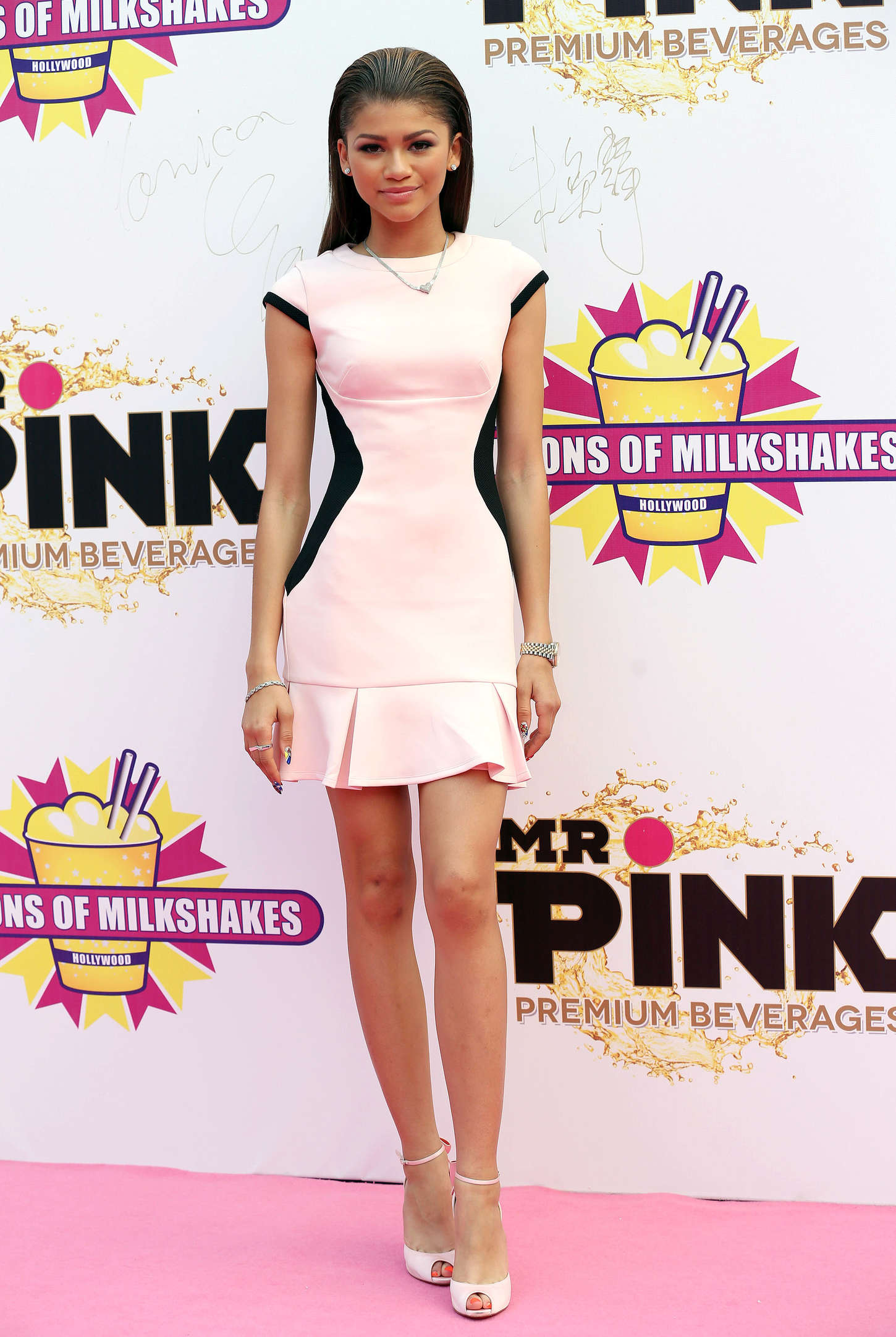Zendaya Coleman 2014 : Zendaya: Millions of Milkshakes Grand Opening -05